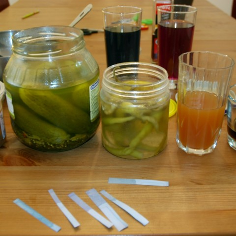 selection of pickled vegetables