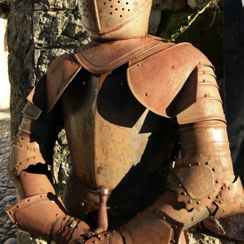 Rusty Suit of Armour
